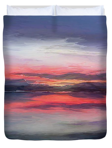 Cold Bay Duvet Cover by Michael Pickett