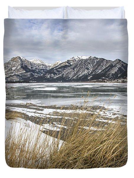 Cold Landscapes Duvet Cover
