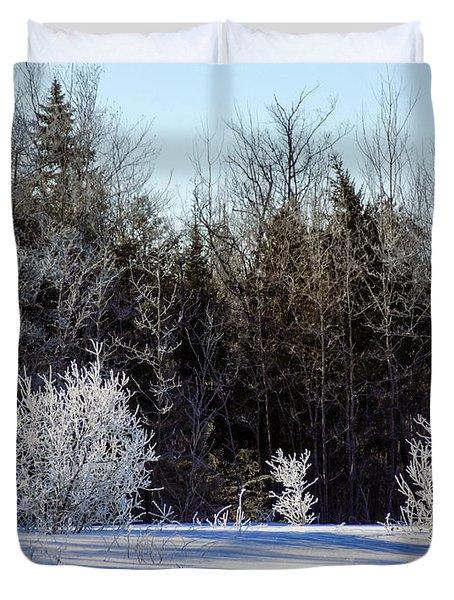 Cold Magic Duvet Cover