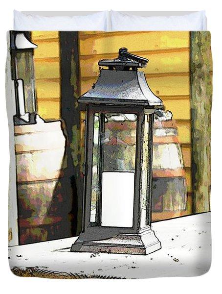 Colonial Light Duvet Cover