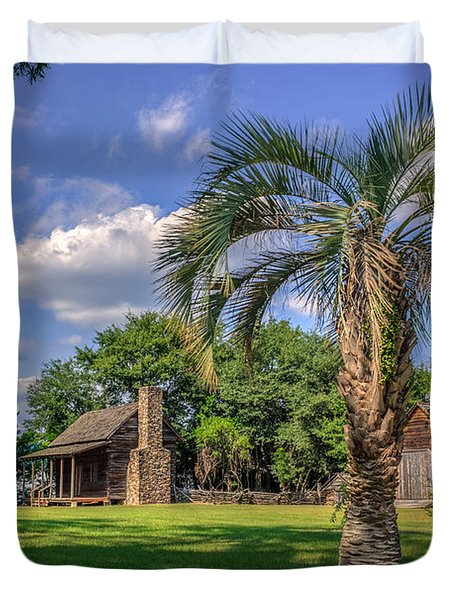 Colonial Paradise Duvet Cover