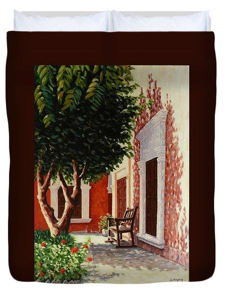 Colonial Patil,peru Impression Duvet Cover