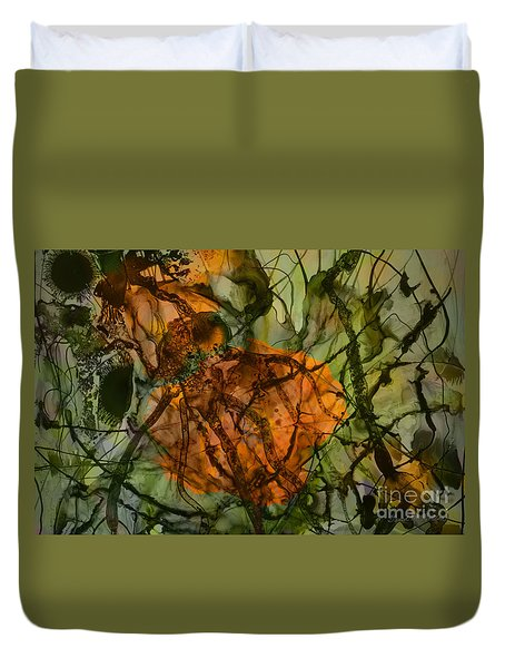 Color Abstraction Xx Duvet Cover