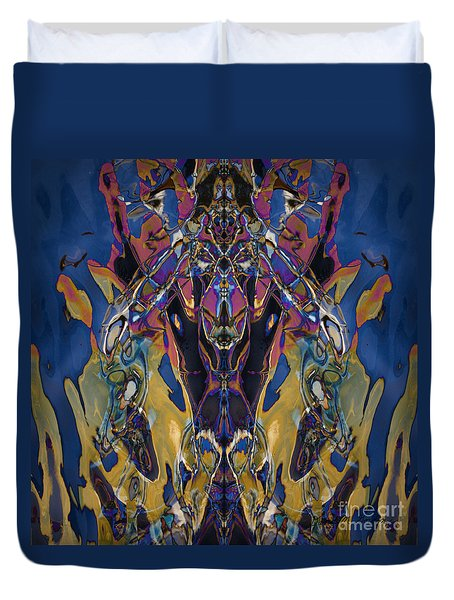 Color Abstraction Xxi Duvet Cover