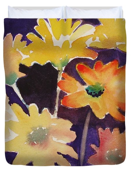 Color And Whimsy Duvet Cover by Marilyn Jacobson