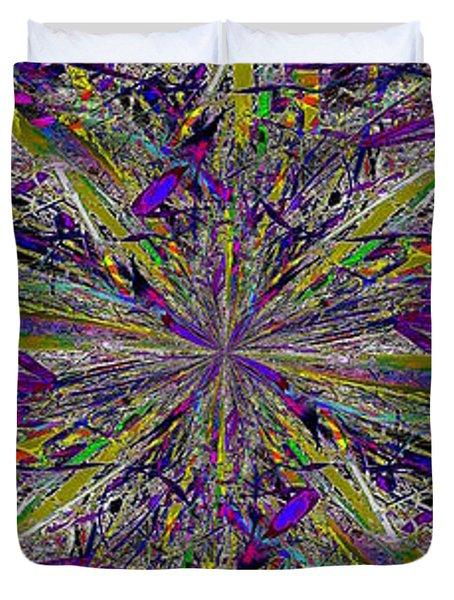 Color Boom Duvet Cover by Tim Allen