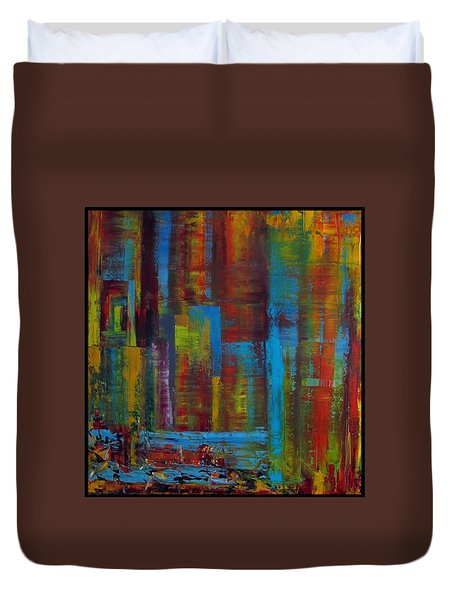 Color Burst Duvet Cover