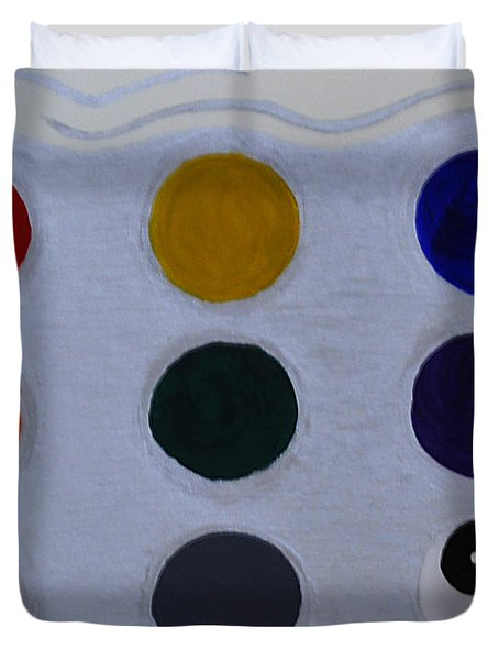 Color From The Series The Elements And Principles Of Art Duvet Cover
