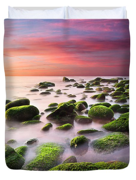 Color Harmony Duvet Cover by Jorge Maia