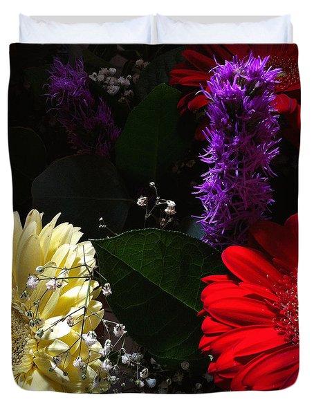 Color Me Dark Duvet Cover by Meghan at FireBonnet Art