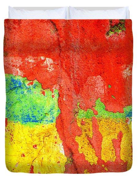 Color Splash  Duvet Cover