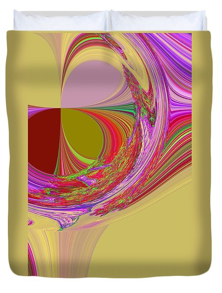 Color Symphony Duvet Cover