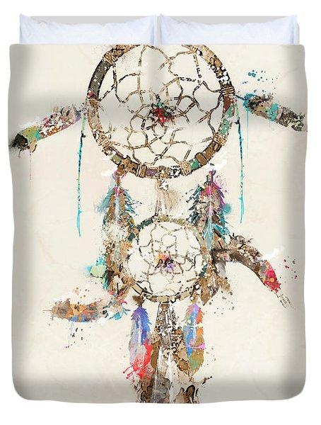 Color Your Dreams Duvet Cover by Bri B