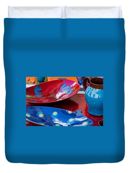 Color Your Life 4 Duvet Cover by Dany Lison