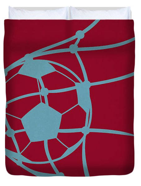 Colorado Rapids Goal Duvet Cover