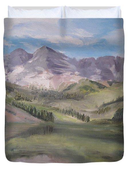 Colorado Reflections Duvet Cover