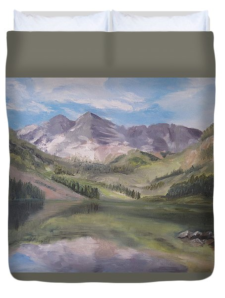 Colorado Reflections Duvet Cover