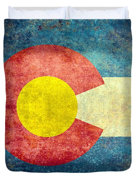 Colorado State Flag Duvet Cover