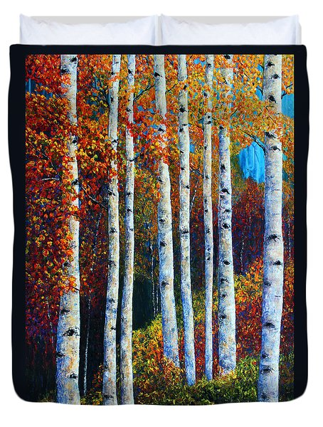 Colorful Colordo Aspens Duvet Cover