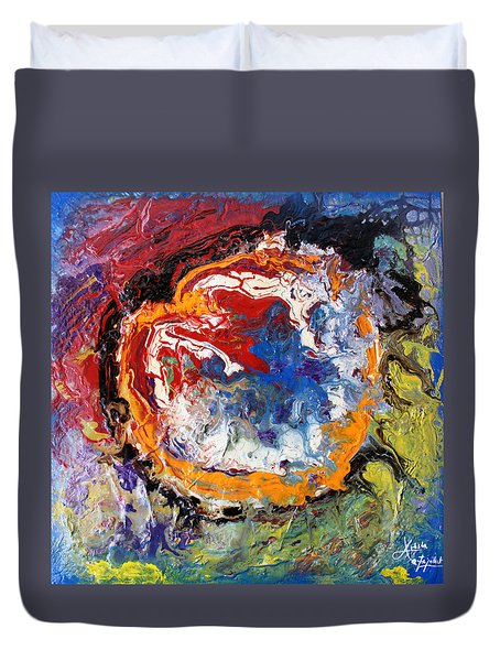Colorful Happy Duvet Cover