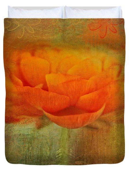 Colorful Impressions Duvet Cover