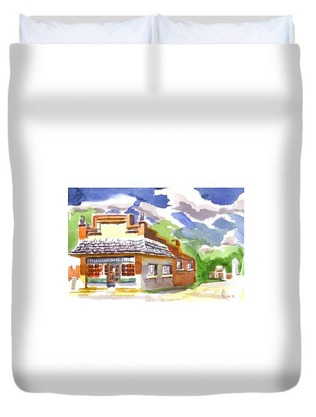 Colorful May Morning Duvet Cover by Kip DeVore
