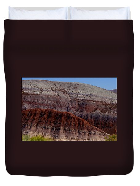 Colorful Mountain Duvet Cover