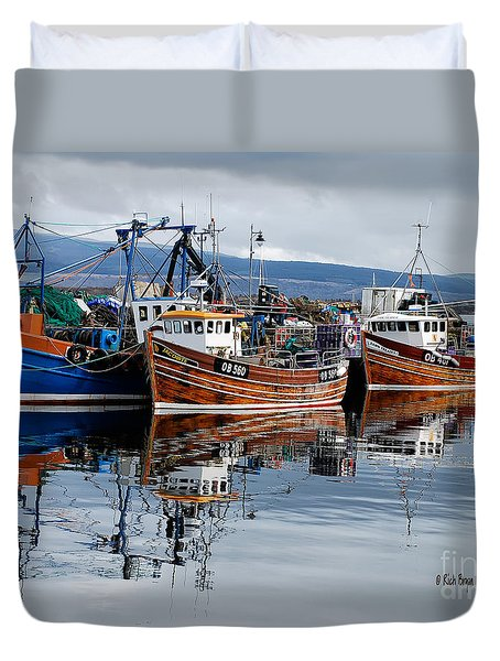 Colorful Reflections Duvet Cover by Lois Bryan
