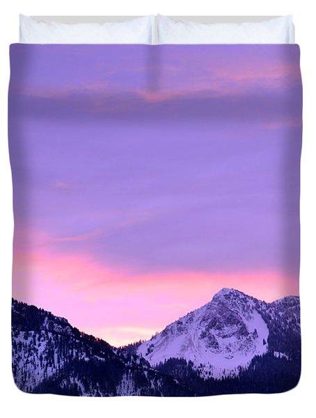 Colorful Sunrise No. 1 Duvet Cover