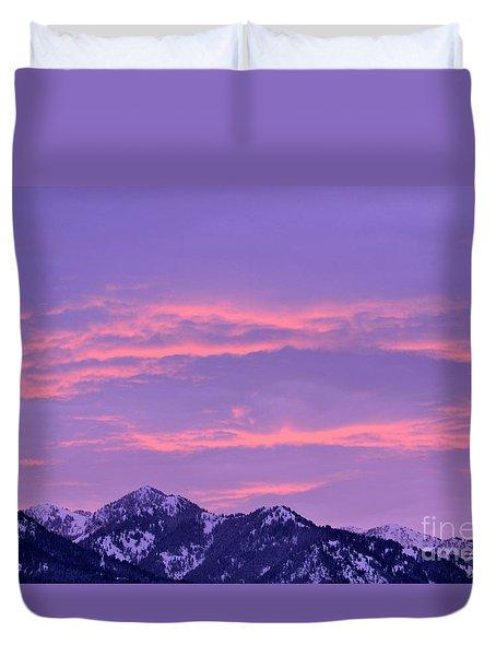 Colorful Sunrise No. 2 Duvet Cover