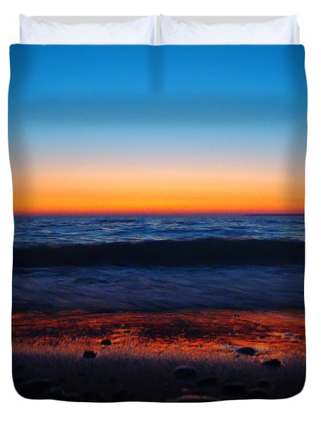 Colorful Twilight Duvet Cover