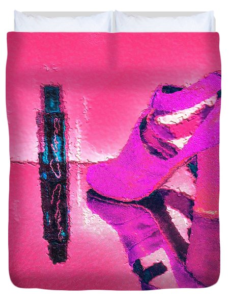 Colors Duvet Cover by Liane Wright