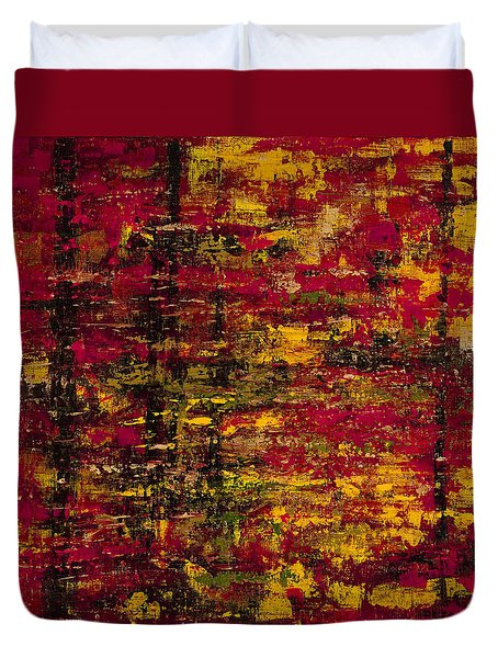 Colors Of Autumn Duvet Cover by Darice Machel McGuire