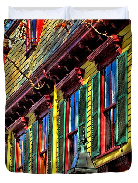 Colors Of Autumn Duvet Cover by Joann Vitali