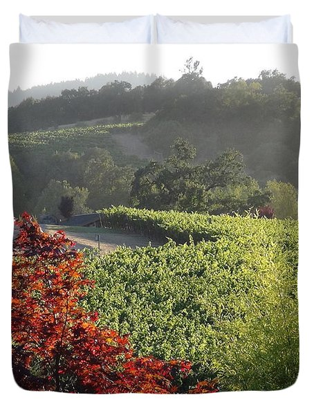 Colors Of Cali Duvet Cover