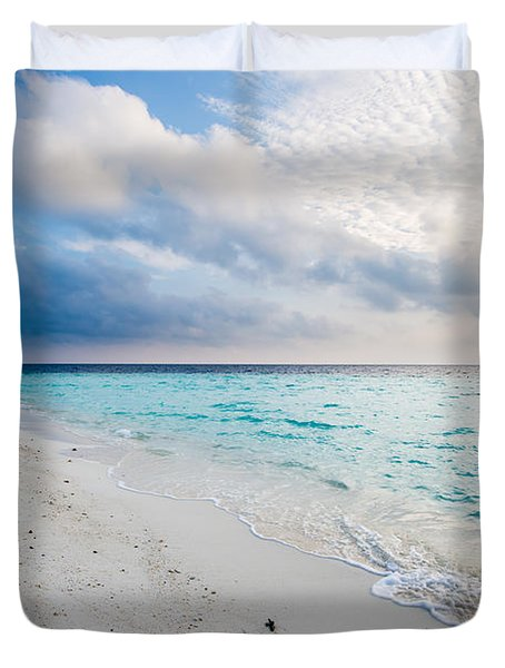 Colors Of Paradise Duvet Cover