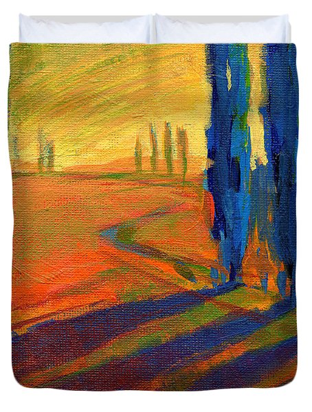 Colors Of Summer 2 Duvet Cover