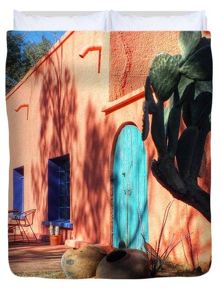 Colors Of The Desert Southwest Duvet Cover