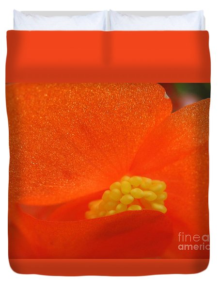 Colors Of The Sun Duvet Cover by Patti Whitten