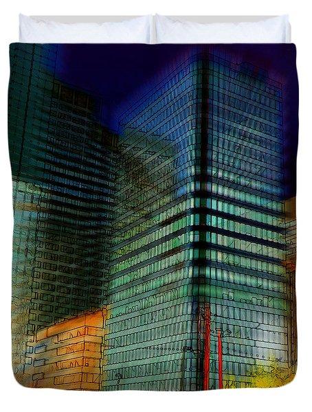 Colors Duvet Cover by Stuart Turnbull