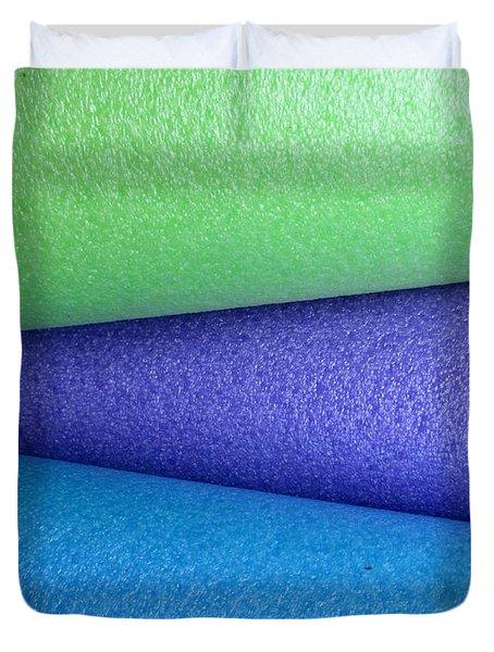 Colorscape Tubes B Duvet Cover