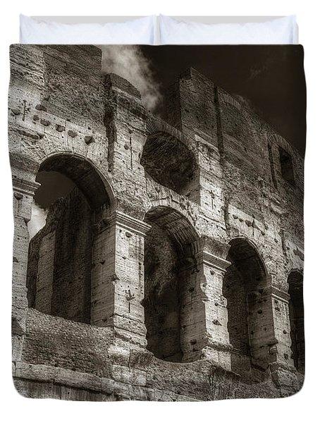 Colosseum Wall Duvet Cover