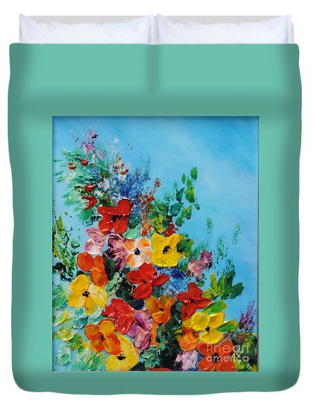 Colour Of Spring Duvet Cover