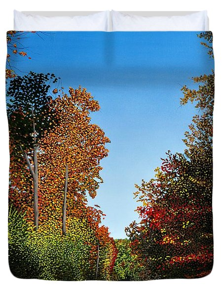Colours Of Caledon Duvet Cover