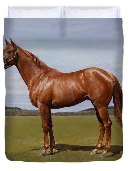 Colt Duvet Cover by Emma Kennaway