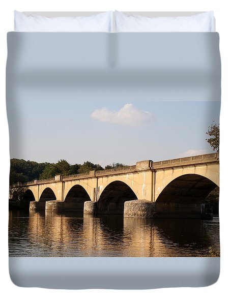 Columbia Bridge Duvet Cover