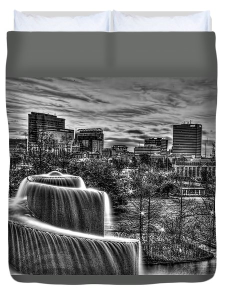 Columbia Skyline Duvet Cover