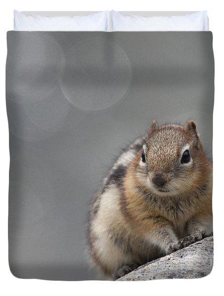 Columbian Ground Squirrel Duvet Cover