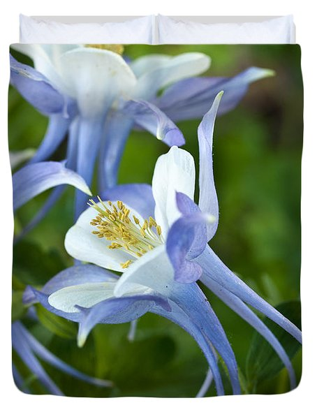 Columbine-2 Duvet Cover