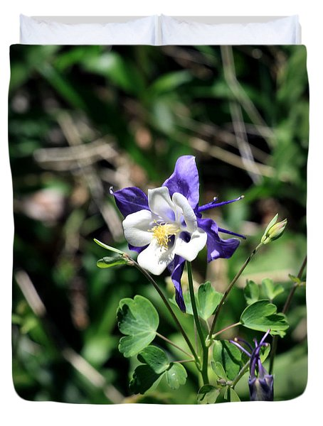 Columbine Duvet Cover by Chris Thomas